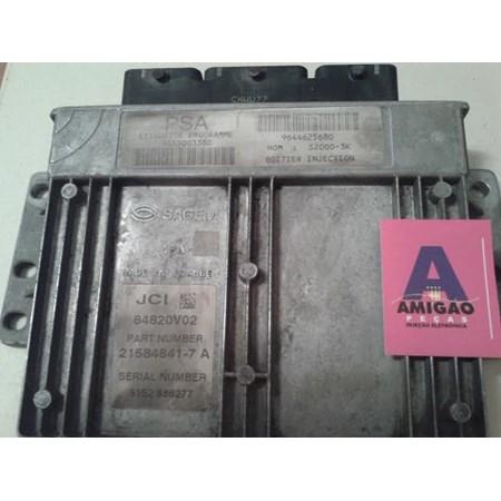 Módulo Injeção Peugeot 206 1.4 Gas - 9655003380 - 21584841-7
