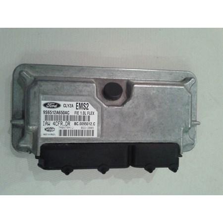 Módulo Injeção Ford Fiesta 1.0 Flex - IAW 4CFR.DR - 9S6512A650AC - EMS2 - Original