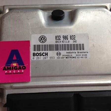 Módulo Injeção Polo / Golf 1.6 8v Gas. - 0261207653 - 032906032 - Bosch Original