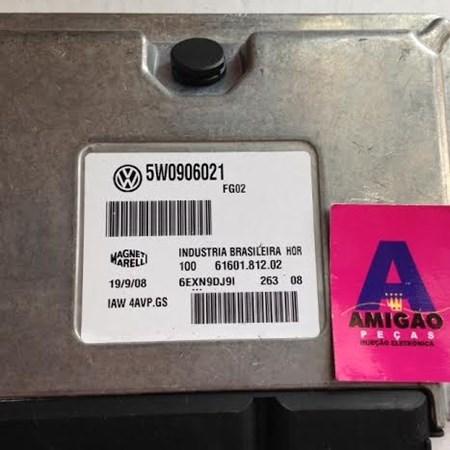 Modulo Injeção Volks Gol / Fox / Parati 1.6 - 5W0906021 - IAW 4AVP.GS - NOVO