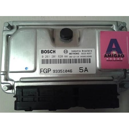 Módulo Injeção GM Astra 2.0 Flex - 0261201620 - 93351046 - Bosch - (Novo)