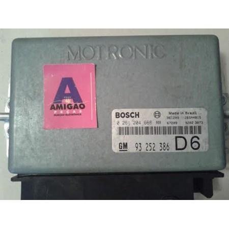 Modulo Injeção GM Vectra 2.0 - 0261204668 - 93252386 - Bosch