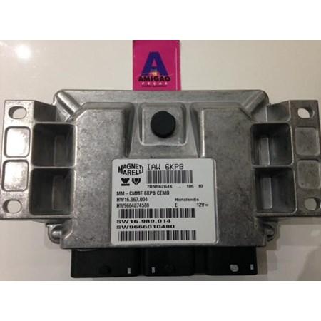 Módulo Injeção Citroen C4 C5 2.0 16V Flex / Peugeot 307 - IAW6KPB - HW9664874580 - Original