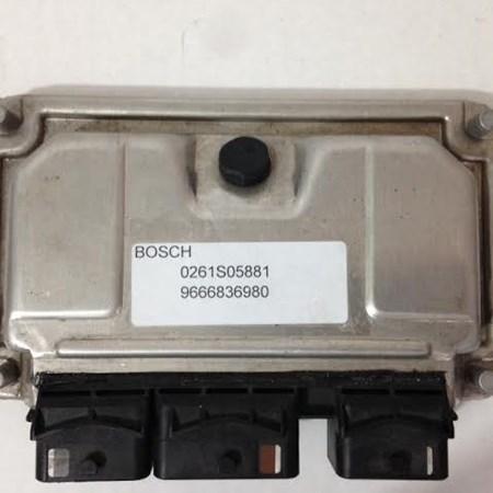 Modulo Injeção Peugeot 207 1.4 Flex - 0261S05881 - 9666836980 - Original *PREÇO SOB CONSULTA*