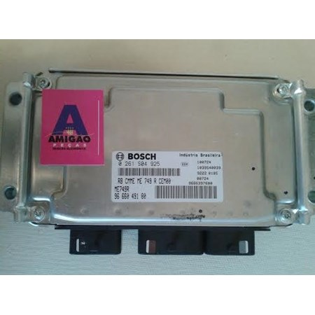 Módulo Injeção Citroen Aircross 1.6 16v. flex - 0261S04925 - 9666049180 - Bosch Original NOVO