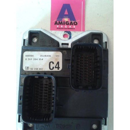 Módulo Injeção GM Astra 1.8 8v 0261204954 93248887 C4