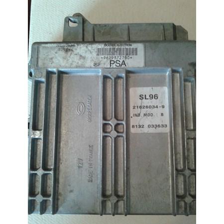 Módulo de Injeção - Citroen Xsara 1.8 / Peugeot 306 1.8 - 9629372780 - 21626034-9 - PSA - Original