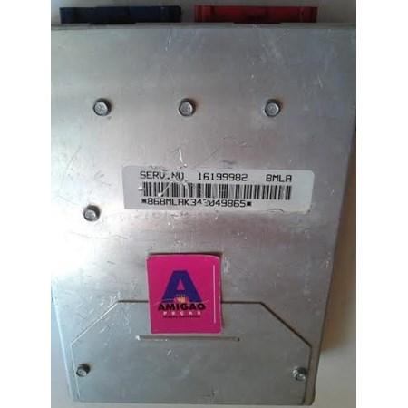 Módulo Injeção GM S10 - SS10 Automática - 16199982 - BMLA - Original