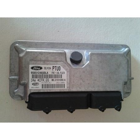 Módulo de Injeção Ford Fiesta 1.0 Flex - IAW4CFRGS - 9S6512A650LA PTUO - Original