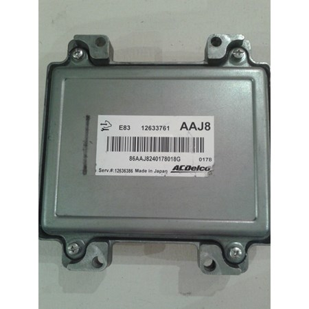 Módulo de Injeção GM Agile - Montana 1.4 Flex - 12633761 - AAJ8 - Original