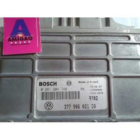 Módulo Injeção Volks Gol 1.0 8V gasolina - 0261204740 - 377906021DQ - Bosch *PREÇO SOB CONSULTA*