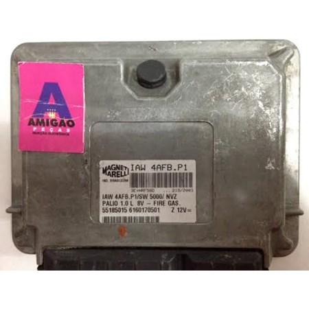 Modulo de Injeção Fiat Palio 1.0 8V Fire - IAW4AF.P1 - 55185015 Original
