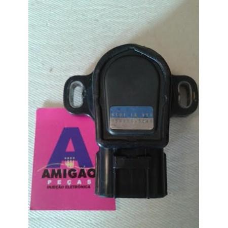 Sensor Borboleta TPS Mazda MPV MX3  198500-3040 - KL011B911 - Original
