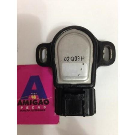 Sensor Borboleta/TPS Mazda MX3 - Engate Gira para Direita - Original