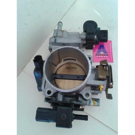 Corpo Borboleta/TBI Honda Civic (Completo) TPS JT6H - Válvula Canister 1362002262 - Atuador Marcha Lenta 1368001901
