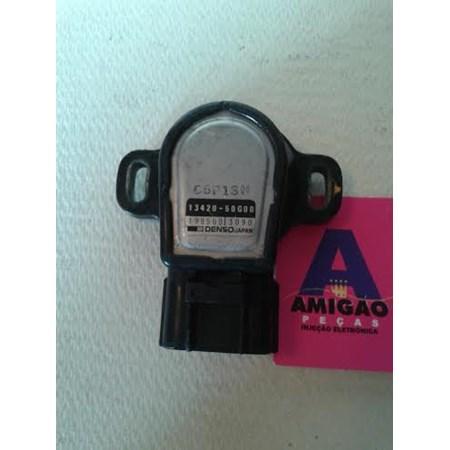Sensor Borboleta / TPS Suzuki Swift - 198500-3090 - 1342050G00 Denso
