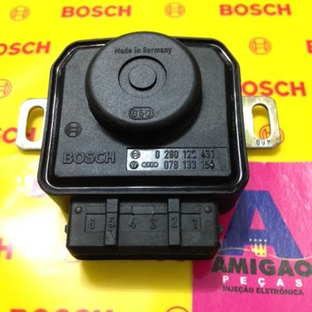 Sensor Borboleta /TPS Audi A4 - A6 - 0280120431 - 078133154 - Original Bosch