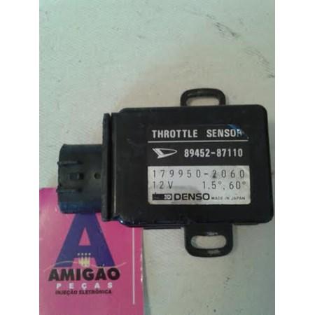 Sensor Borboleta / tps Daihatsu Charade - Cuore - 179950-2060 - 89452-87110 - Original - Denso